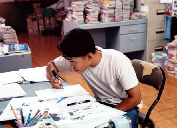 boy draw